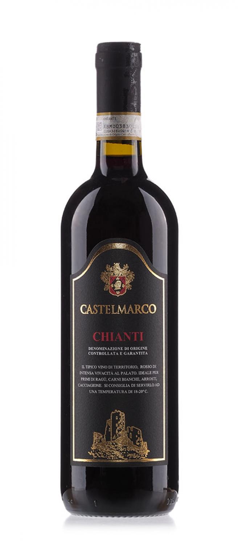 Вино Castelmarco Chianti DOCG 0.75L  красное сухое (Кастелмарко Кьянти)